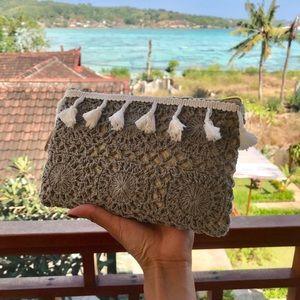Bali Crochet Clutch